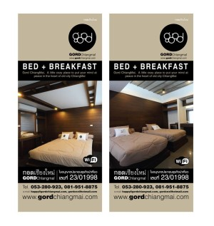 Gord Chiangmai guesthouse branding and CI design