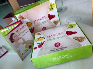 Marong Packaging design