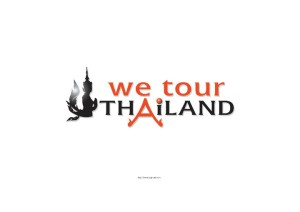 We Tour Thailand logo design